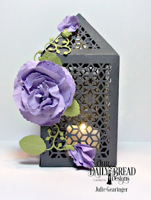 Our Daily Bread Designs, Rose Dies, Rose Leaves Dies, Luminous Lantern Die, Lovely Leaves, Designed by Julie Gearinger