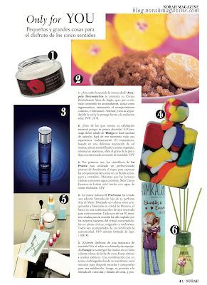 Norah Magazine y AmapolaBio, cosmetica ecologica de lujo. Blog