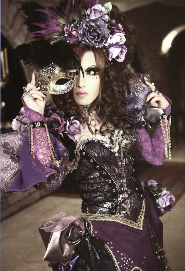 Transvestite lives in maids quarters