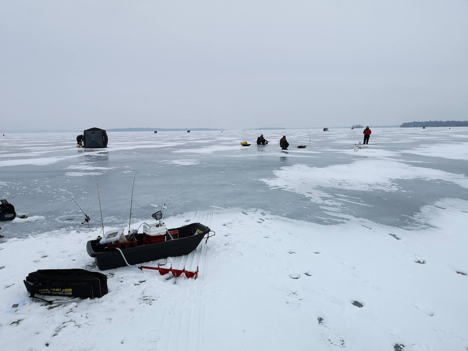 South Bruce Guide Service: Ice Fishing late December 2018