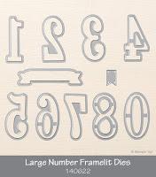 Large Number Framelits