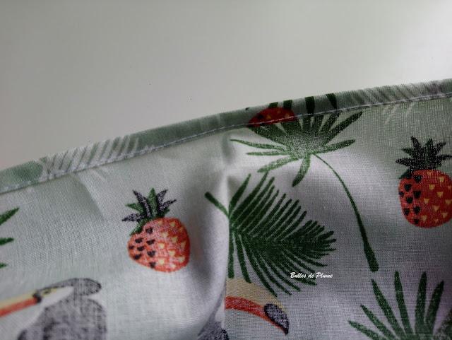 Bulles de Plume DIY Jupe fille couture facile
