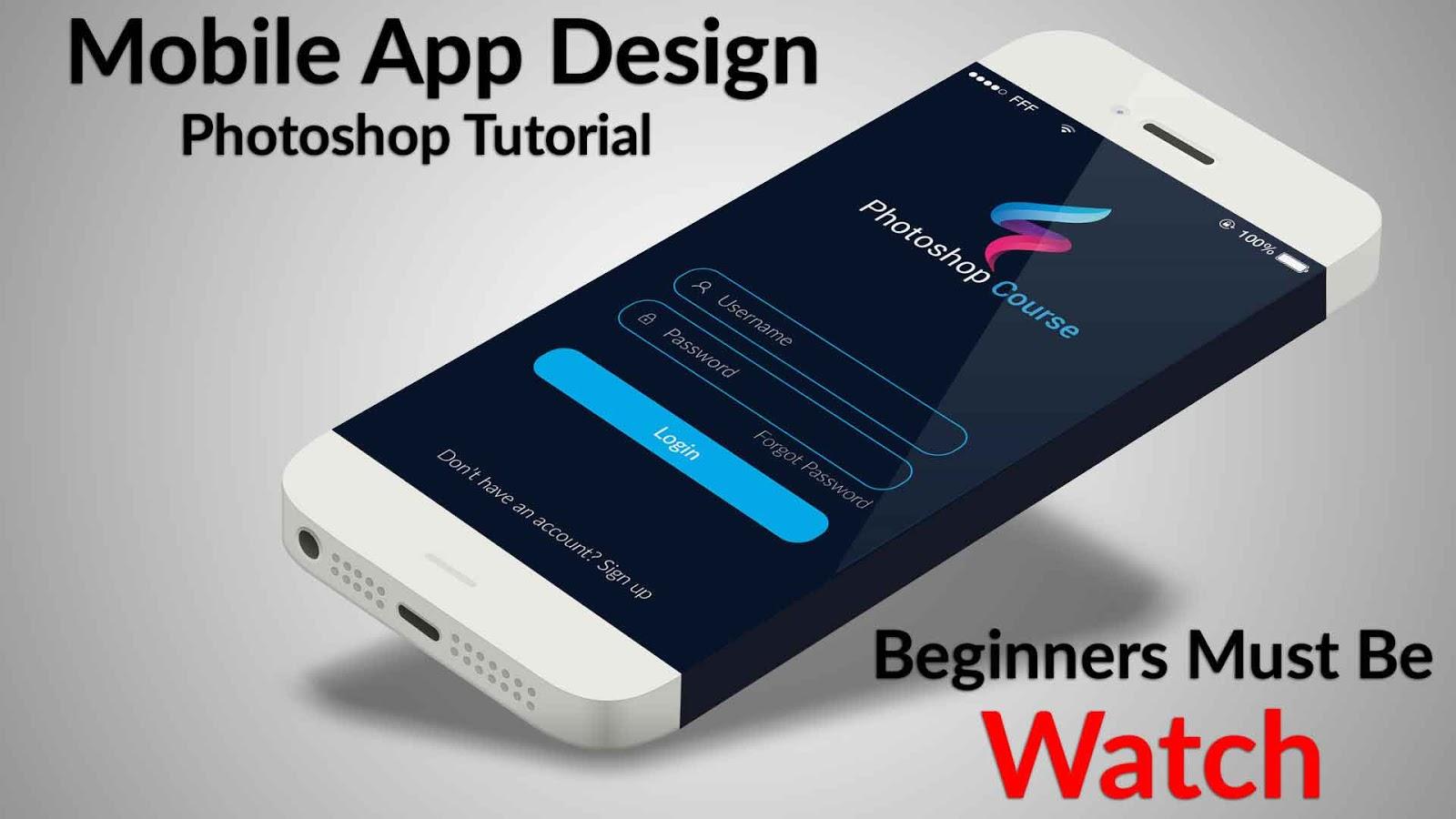 Mobile app design tutorial uiux design how to design a user mobile app design tutorial uiux design how to design a user interface baditri Gallery