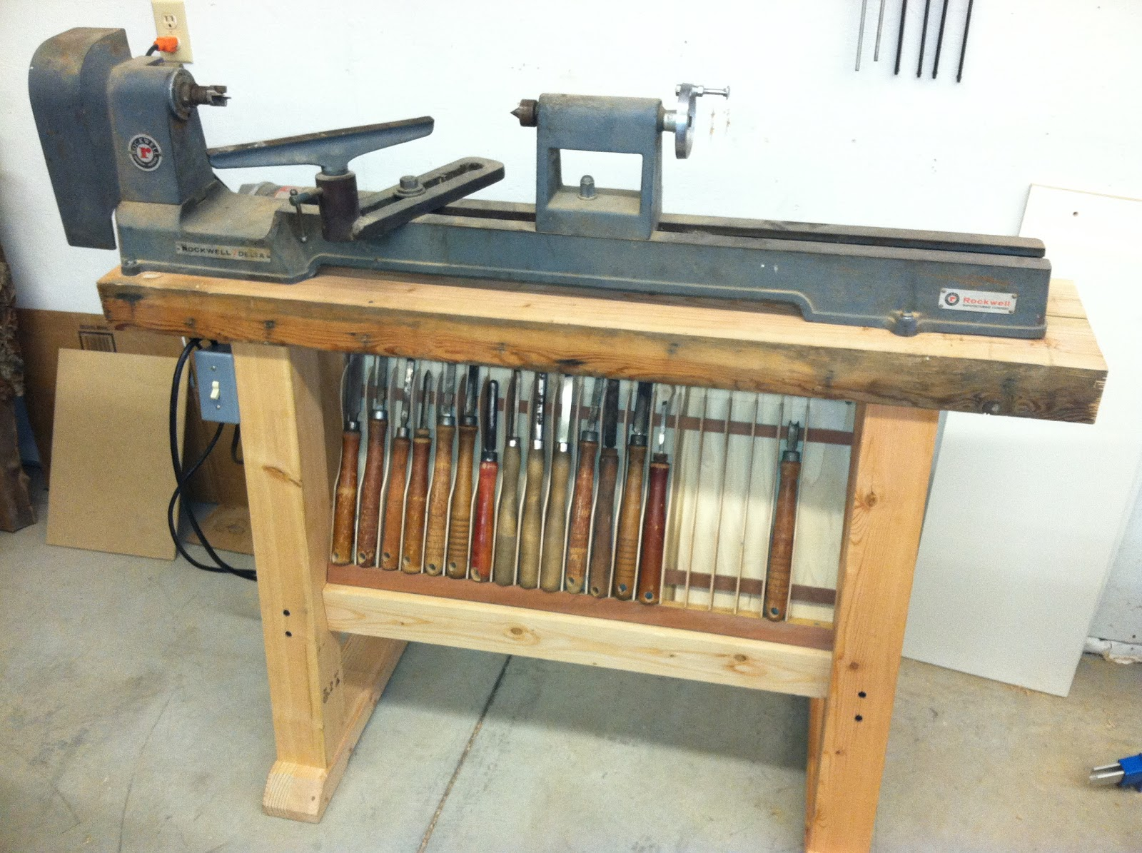 Wood Lathe Stands Pdf Woodworking