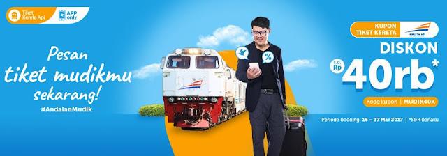 Traveloka Diskon Tiket Kereta