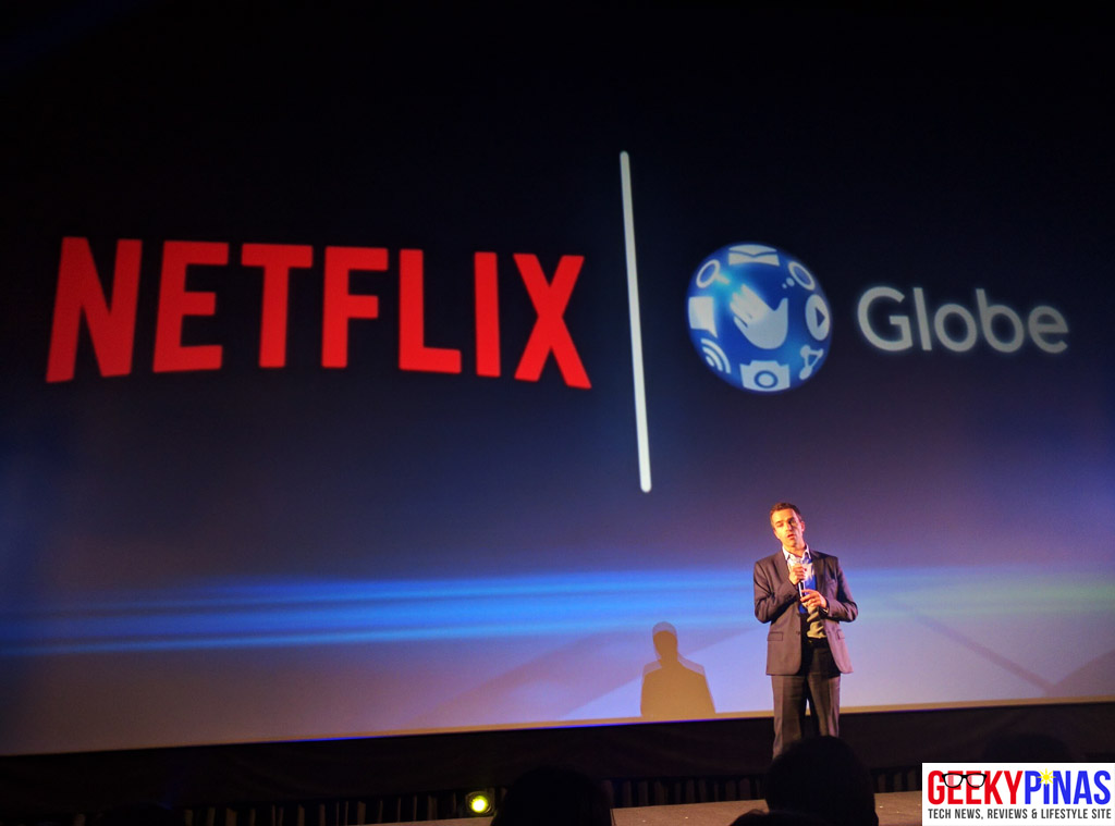 Globe PH partners with Netflix