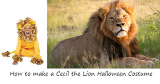 halloween costume cecil the lion popular