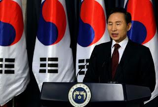 Presiden Korea Selatan: Lee Myung Bak