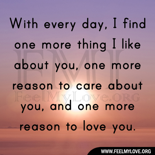Quotes I Love You More Every Day: One More Day Quotes. QuotesGram