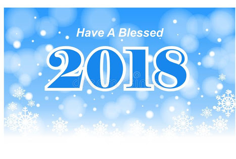 #2018: Happy New Year; Wishing You A Blessed 2018