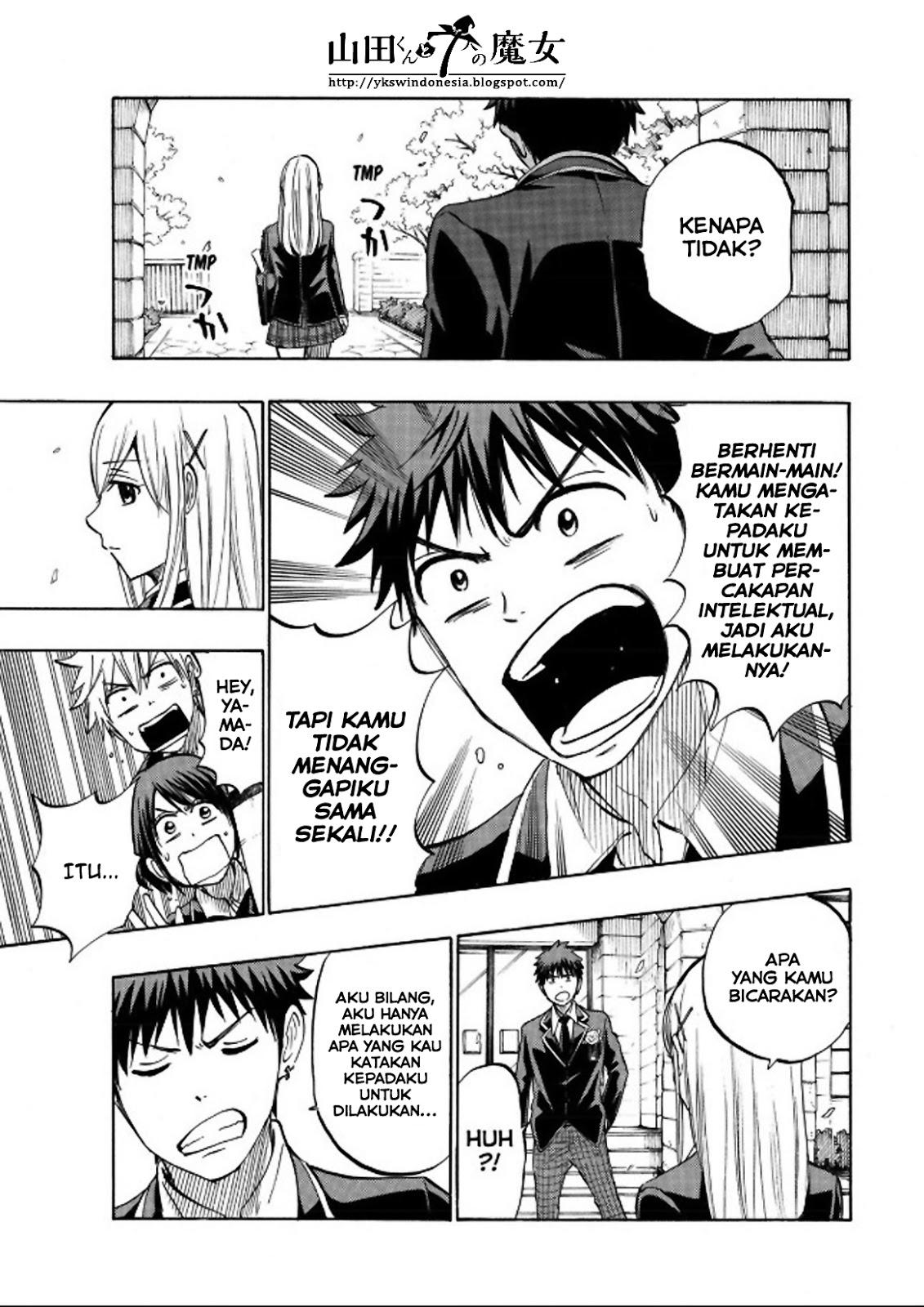 Yamada-kun to 7-nin no Majo Chapter 241-17
