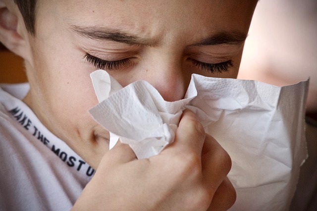 Cover your mouth and nose with a tissue when you cough or sneeze (HealthDiseaseBlog.com)