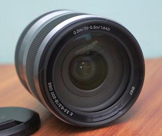 Jual Sony 18-200 OSS ( Lensa Sapu Jagat Mirrorless Sony ) - APSC