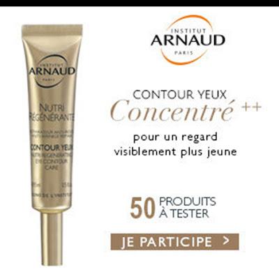 50 contours Yeux Nutri Régénérante Institut Arnaud à gagner