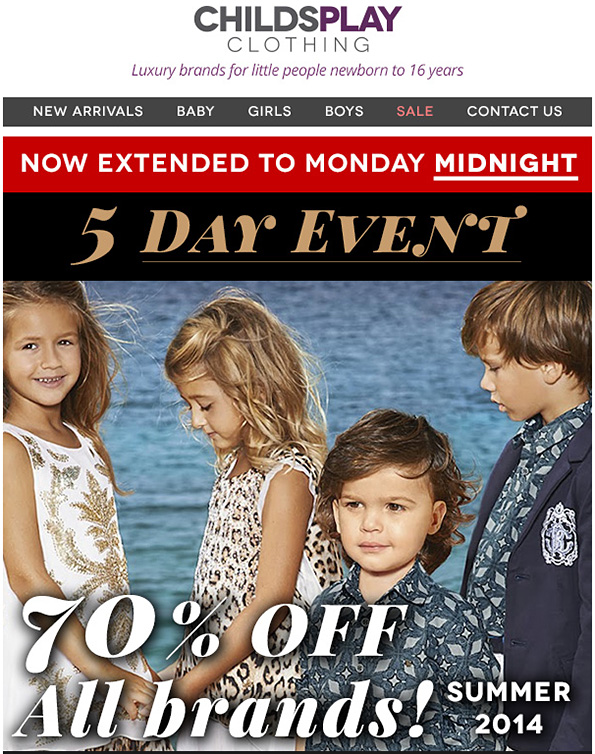 http://www.awin1.com/cread.php?awinmid=5420&awinaffid=110474&clickref=&p=http%3A%2F%2Fwww.childsplayclothing.co.uk%2Fsale%2Fss14