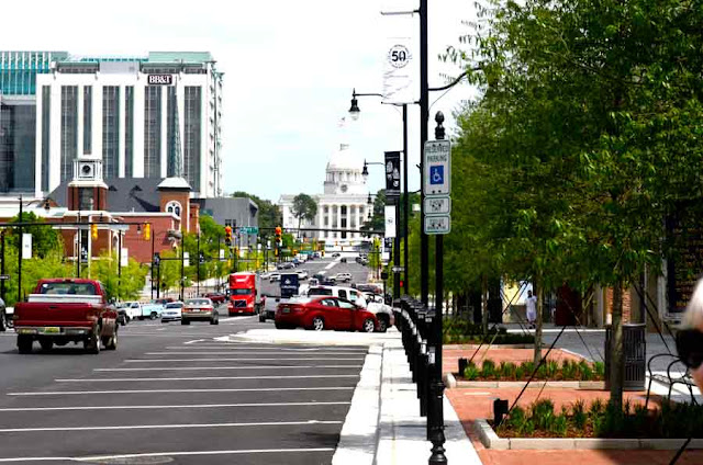 view up Dexter Ave. to Capitol