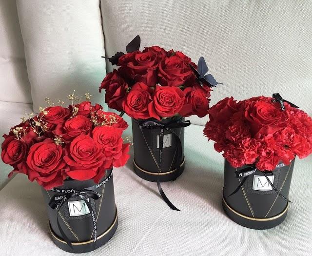 【浪漫滿滿】Maison M情人節之選  Amour系列玫瑰花套裝
