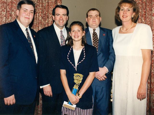 Sarah Huckabee Sanders Family
