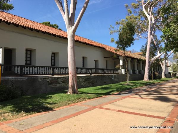 exterior of Mission San Luis Obispo de Tolosa in San Luis Obispo, California