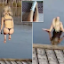 Woman Gets SHOCKED After Str*pping To Jump Into A FROZEN Lake