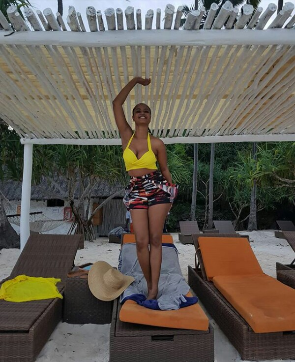 Former MBGN Omowunmi Akinnifesi and her thicker, sexier body...(photos)
