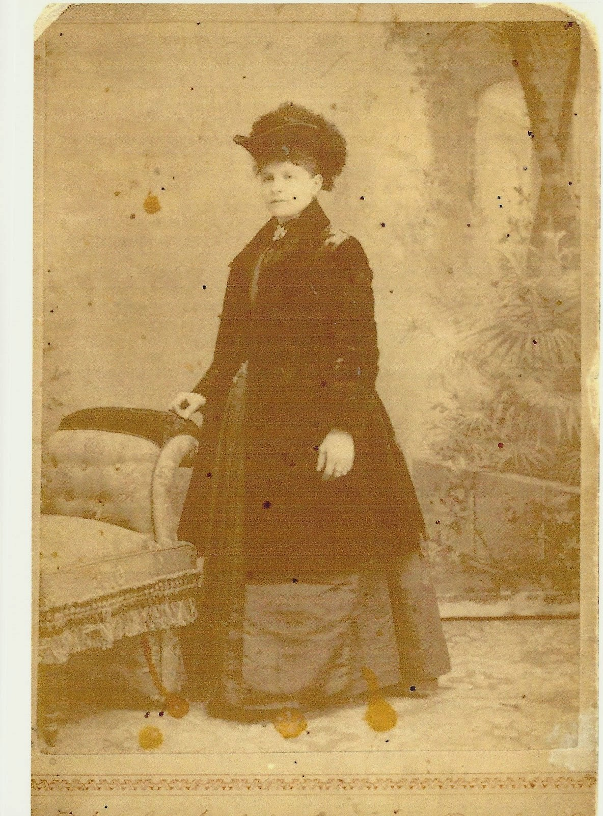 Climbing my family Tree: Mrs. Ella Fisher (1858-before 1926?)