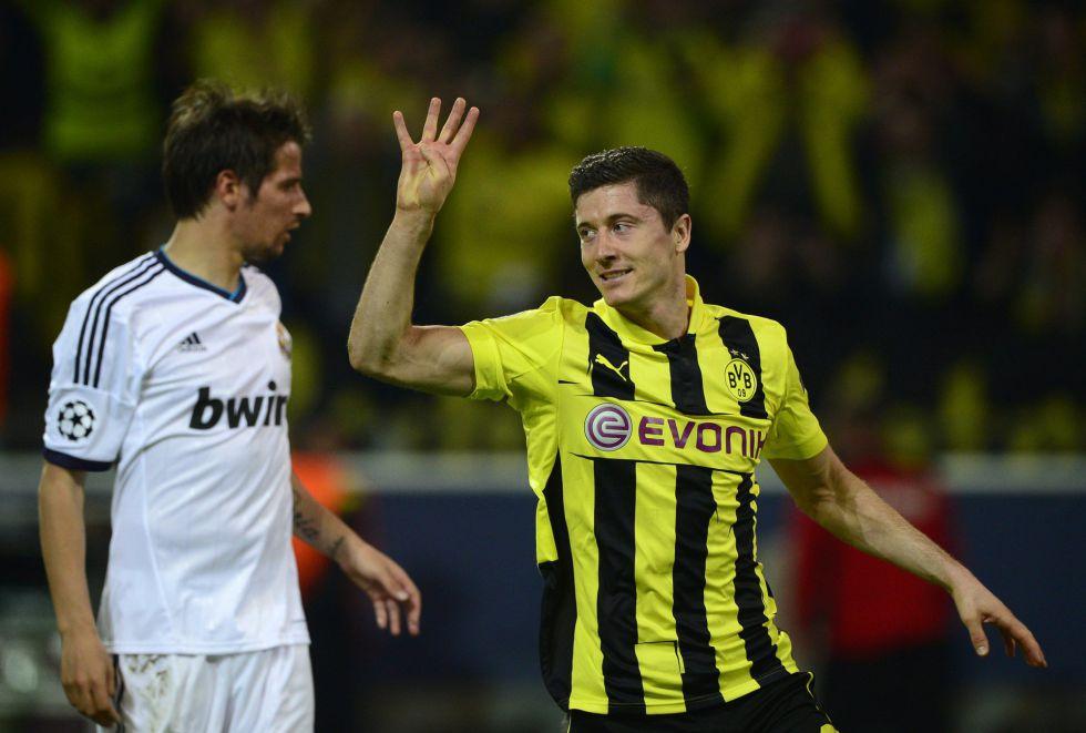 Borussia D. 4 - Real Madrid 1  Lewandowski obliga a un milagro  41daa264a63fb