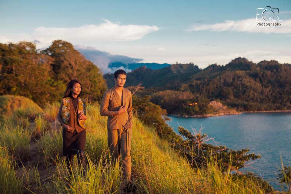 Makean Buta Totoli - Karya fotografi menakjubkan perpaduan fashion dan keindahan alam Tolitoli