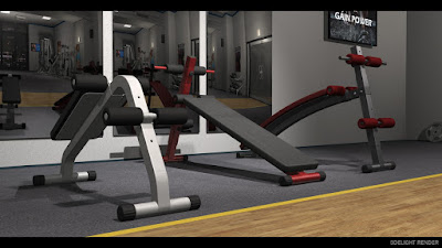 FM Gym: Sit-Up Benches - Poses