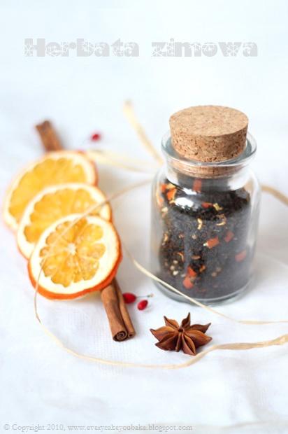 herbata zimowa domowa mieszanka herbaciana