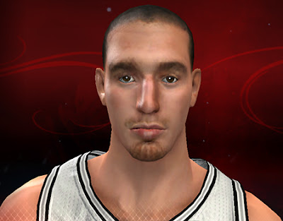 NBA 2K13 Nando De Colo Cyberface Patch