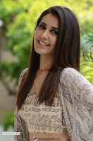 Rashi Khanna in a Tebe Top Sizzling Beauty at Tholi Prema Movie Interview ~  Exclusive 015.jpg