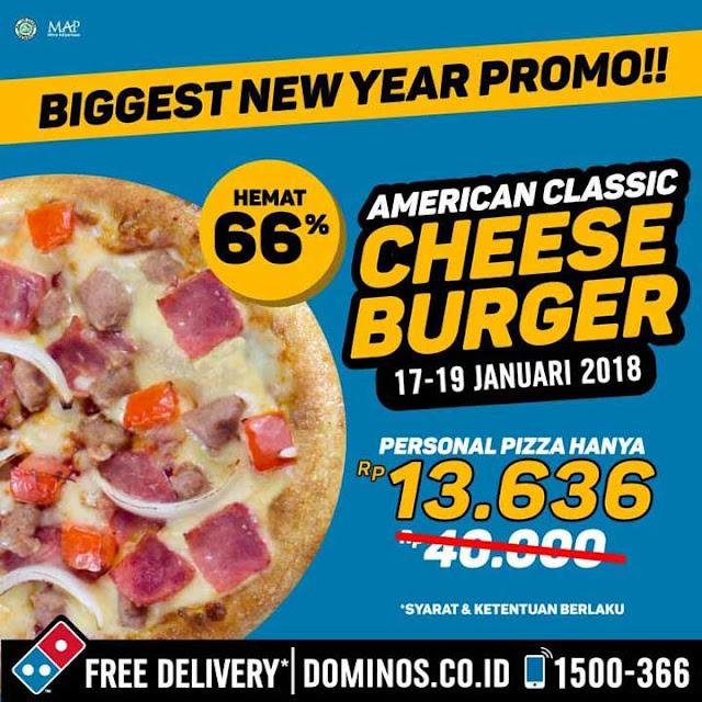Promo DOMINO'S PIZZA Terbaru