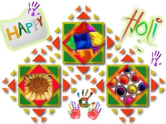 Happy Holi Scraps for Facebook