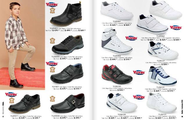 Catalogo de calzado infantil Megashoes OI 2017
