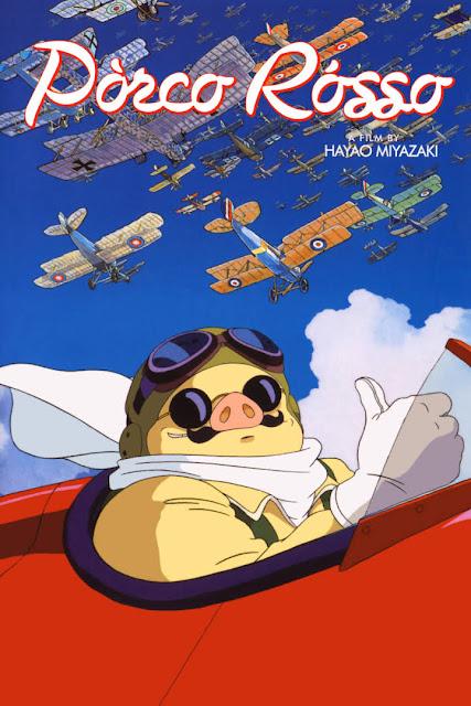 La película Porco Rosso del estudio japonés de animación Studio Ghibli