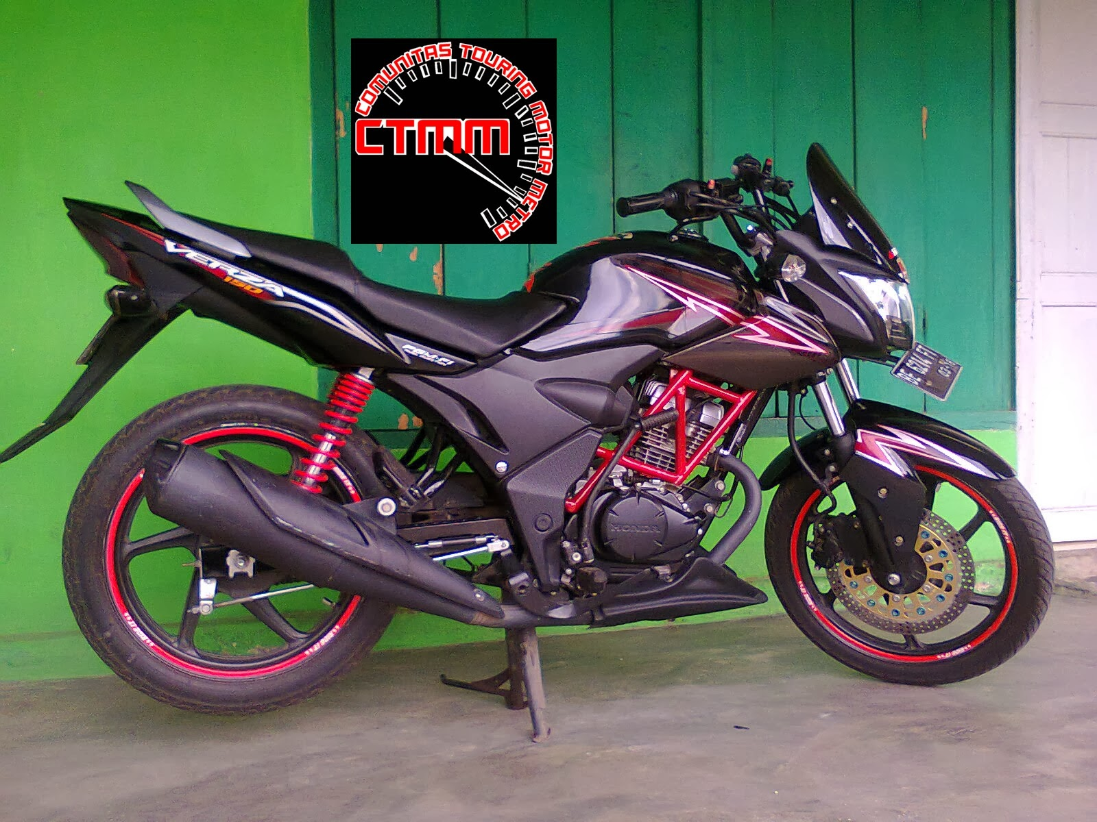 Honda Verza Fairing Simpel Modifikasi Honda CBR Tiger