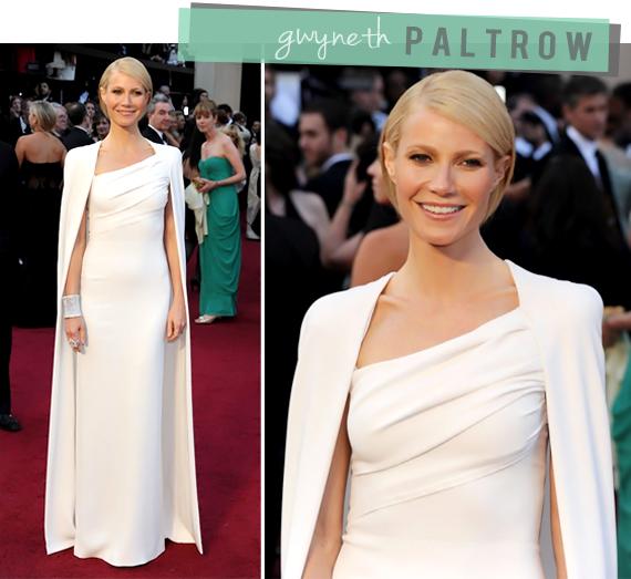 Gwyneth Paltrow Oscars 2012