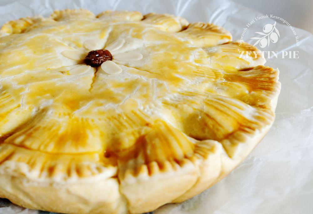 Jual pesan beli pie apel almond enak dan lezat - Zeytin Pie