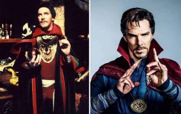 Perbedaan Penampilan Doctor Strange jaman dulu dan sekarang