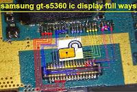 samsung 5360 layar lcd putih dan solusinya