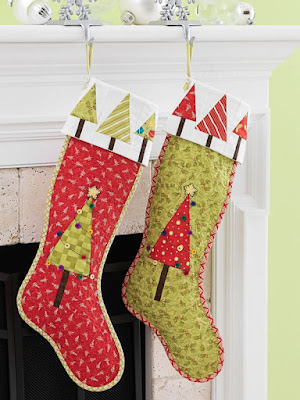 Quilt Inspiration Free Pattern Day Christmas Stockings Amazing Quilted Christmas Stocking Pattern