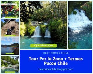 Tour por la Zona más Termas | Pucon - Chile