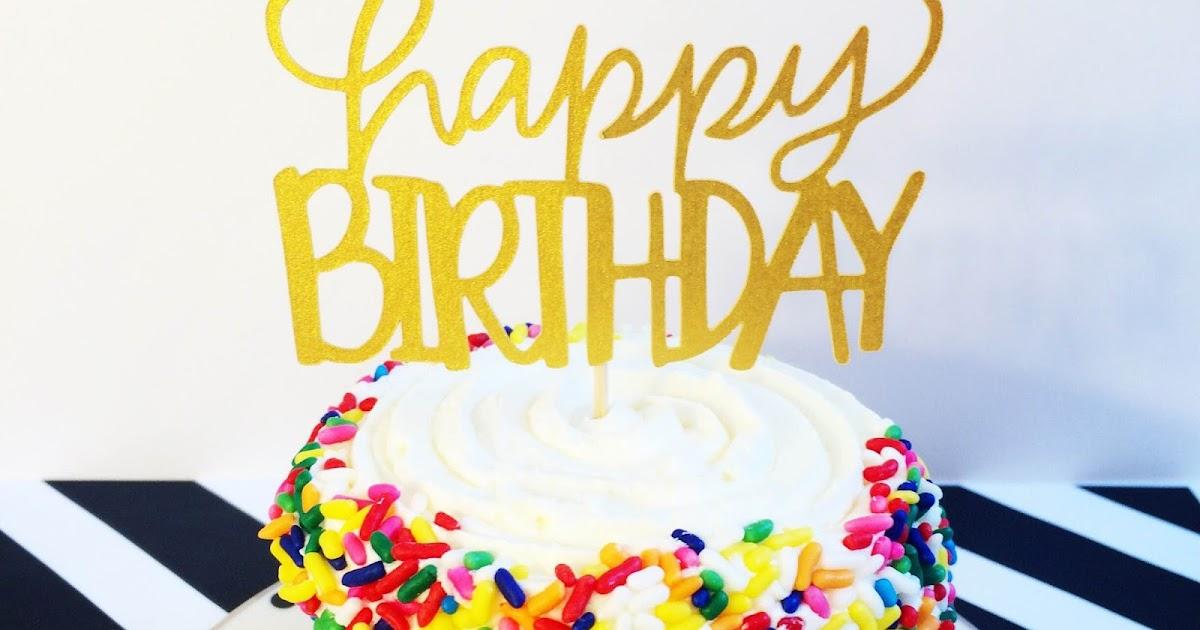 Happy Birthday Babe Cake Topper