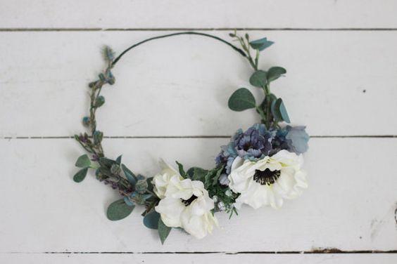 flores boda anemonas ramo anemone wedding