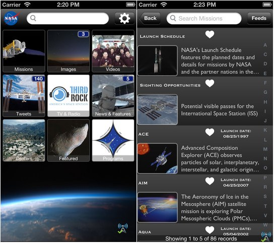 Best 'Space' Themed Apps - For iPhone and iPad - Part 1 ...