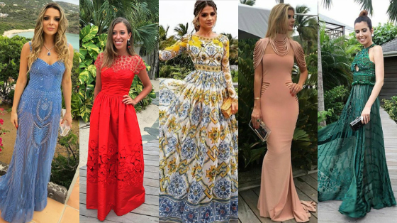 looks do casamento de helena bordon