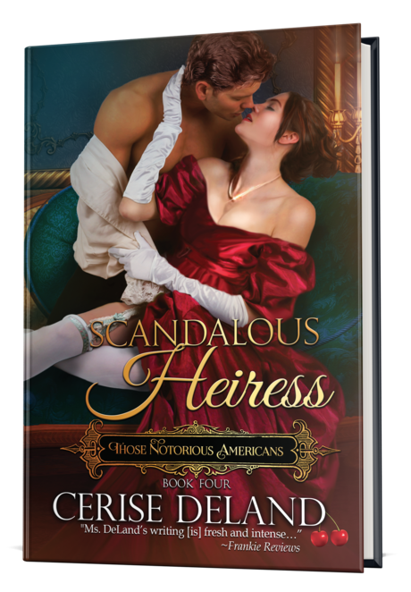 Scandalous Heiress cover