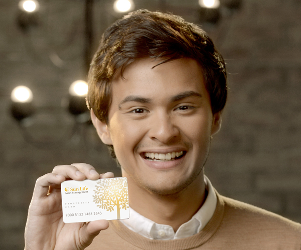 Matteo Guidicelli for Sun Life Prosperity Card