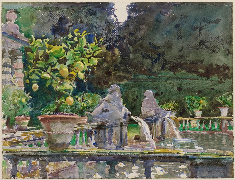 Mary Voil 224 C Est Moi John Singer Sargent Watercolors